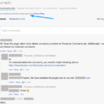 Facebook Comments Notifier GDPR Opt-In