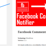 Facebook Moderation - Recent Facebook Comments in Sidebar