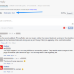 Facebook Moderation - Moderate from Facebook Comments Interface