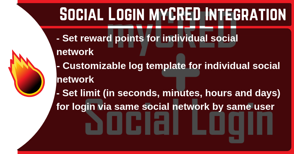 Social Login myCRED Integration