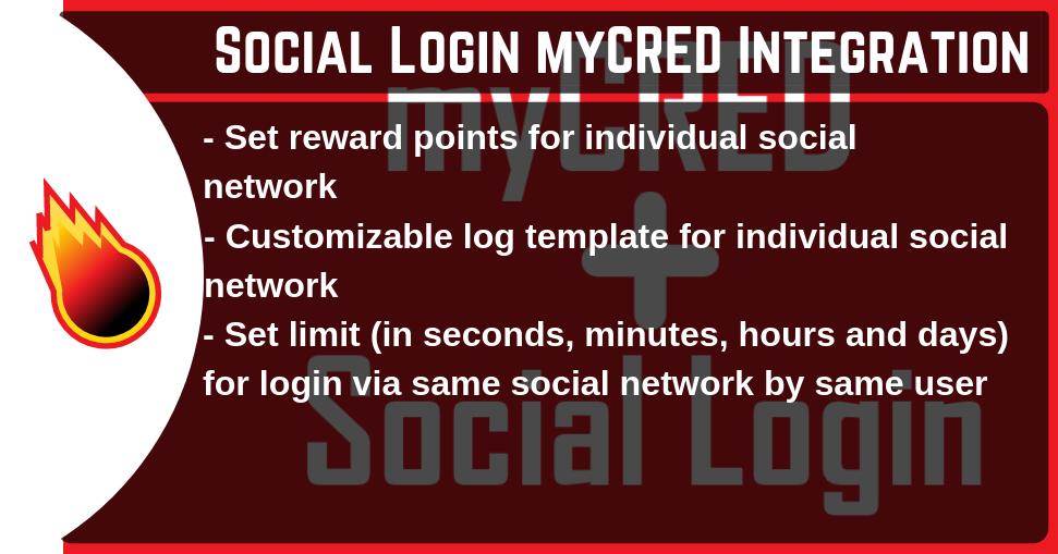 myCRED Social Login