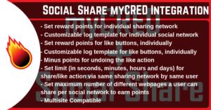 myCRED Social Share