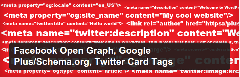 Heateor Open Graph Meta Tags