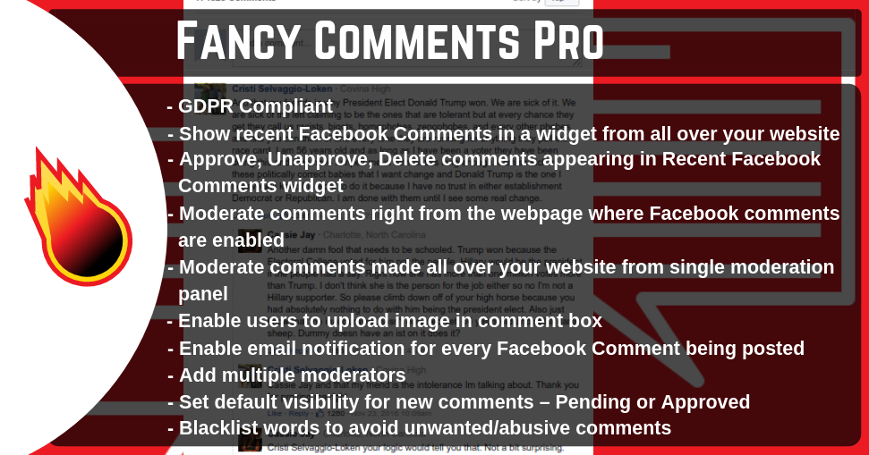 Fancy Comments Pro